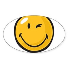 friendly wink Decal