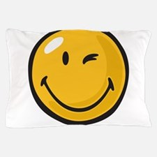 friendly wink Pillow Case