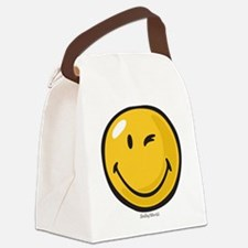 friendly wink Canvas Lunch Bag