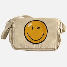 friendly wink Messenger Bag