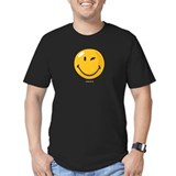 Smileyworld Fitted T-shirts (Dark)