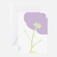 Personalize mom Flowers Greeting Cards (Pk of 10)