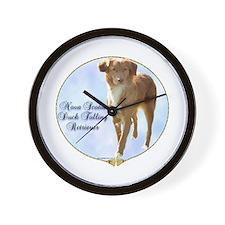 Toller Portrait Wall Clock