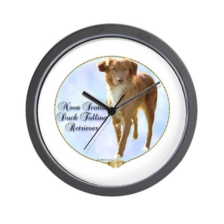 Toller Portrait Wall Clock