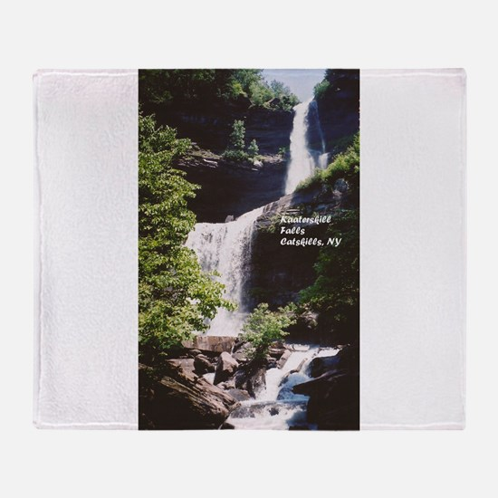 Kaaterskill Falls Throw Blanket