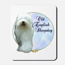 Old English Portrait Mousepad
