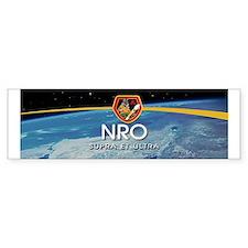 NROL-38 Anubis Bumper Sticker