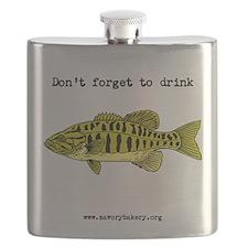 Yellow Fish Flask