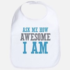 Ask How Awesome Bib