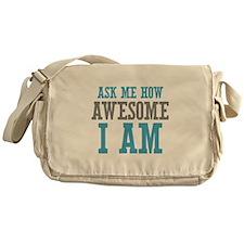 Ask How Awesome Messenger Bag