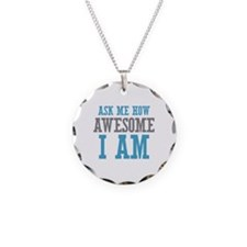 Ask How Awesome Necklace