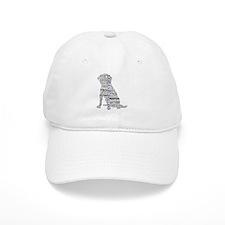 4 Paws Black Purple Baseball Cap