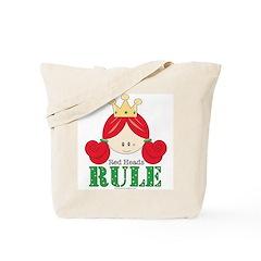 Red Heads Rule Tote Bag