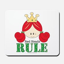 Red Heads Rule Mousepad