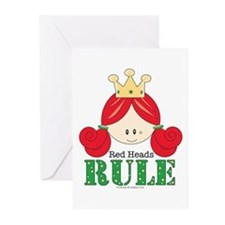 Red Heads Rule Greeting Cards (Pk of 10)