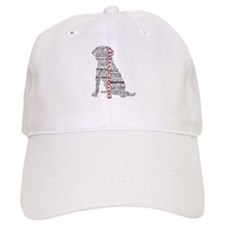4 Paws Black Red Baseball Cap