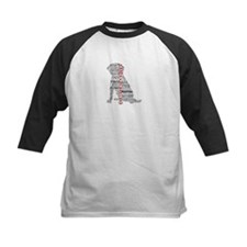 4 Paws Black Red Tee