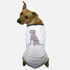 4 Paws Black Red Dog T-Shirt