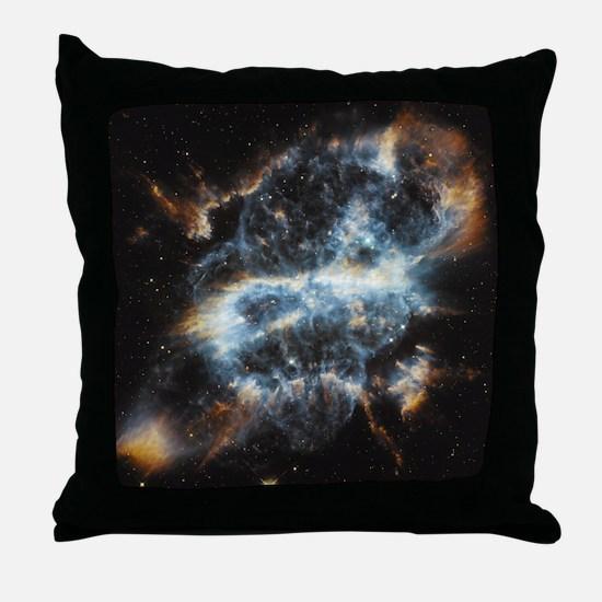 NGC 5189 planetary nebula Throw Pillow