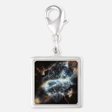 NGC 5189 planetary nebula Silver Square Charm