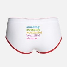 Amazing Sister Women's Boy Brief