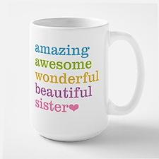 Amazing Sister Large Mug