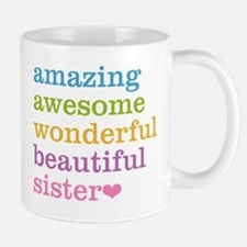 Amazing Sister Small Mugs