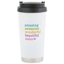 Amazing Sister Travel Mug