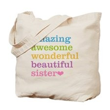 Amazing Sister Tote Bag
