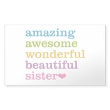 Amazing Sister Decal