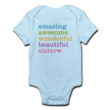 Amazing Awesome Sister Body Suit