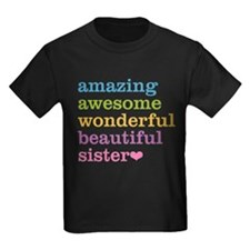 Amazing Awesome Sister T-Shirt