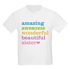 Amazing Awesome Sister T-Shirt