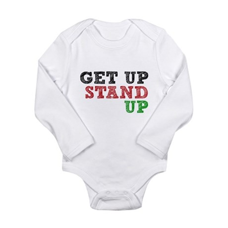 Get Up Stand Up Body Suit