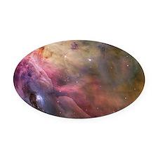 Orion Nebula interior Oval Car Magnet
