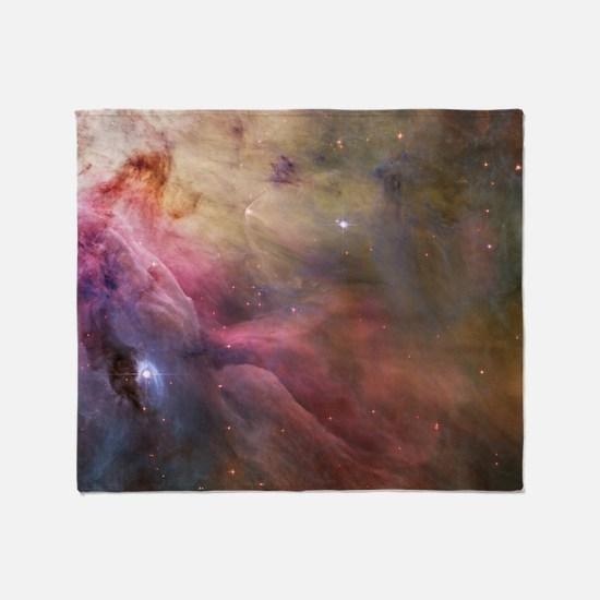 Orion Nebula interior Throw Blanket