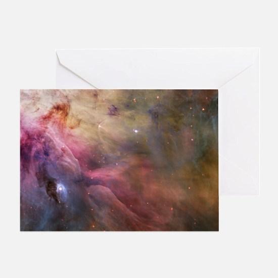 Orion Nebula interior Greeting Card