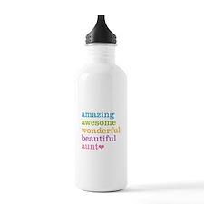 Amazing Aunt Water Bottle