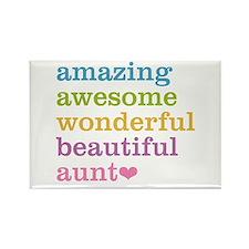 Amazing Aunt Rectangle Magnet