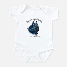 Bouvier des Flandres Rule Infant Bodysuit