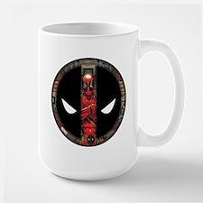 Deadpool Logo Large Mug