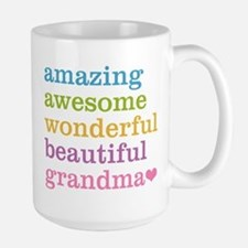 Amazing Grandma Large Mug