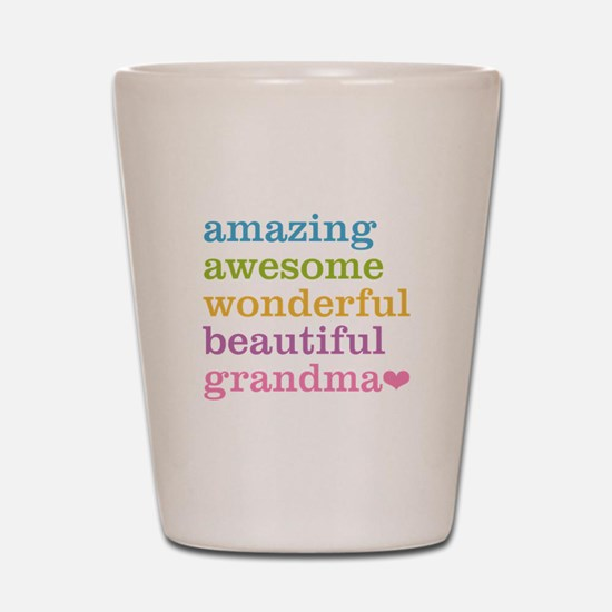 Amazing Grandma Shot Glass