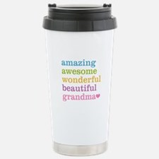 Amazing Grandma Stainless Steel Travel Mug