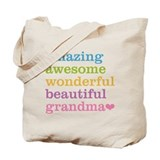 Grandma Canvas Bags