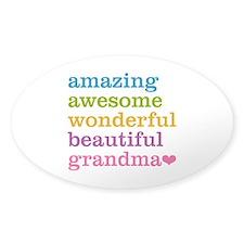 Amazing Grandma Decal