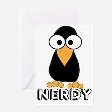 Bird, nerd Greeting Card