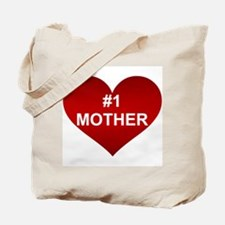 #1 MOTHER Tote Bag