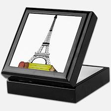 Eiffel Tower on Pencil Keepsake Box