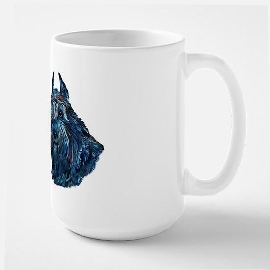 Bouvier des Flanders too Large Mug